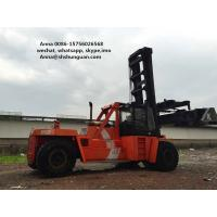 Quality DCD450-12G Used Container Handler , Shipping Container Lift Truck for sale