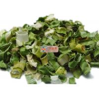 Quality Typical Dehydrated Vegetable Flakes / White And Green AD Dried Leek for sale