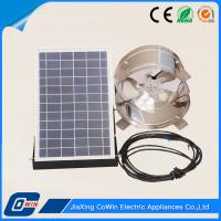 Buy 15W 12V Solar Powered Attic Fans Solar Ventilator For Home Use at wholesale prices