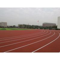 Anti Slipping EPDM Running Track , Skid Proof Coloured Rubber Crumb 6mm-14mm