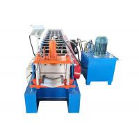 Quality Building Material Steel Roll Forming Machine  Valley Ridge Cap Roll Forming Machine for sale