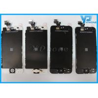Quality Black 4 Inch IPhone 5 LCD Screen Glass Digitizer With Capacitive Screen for sale