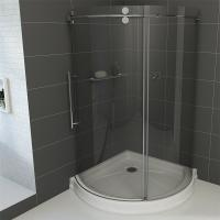 frameless round sliding shower enclosure with 10mm clear glass and rh acearch quality chinacsw com