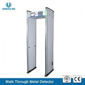China 7 LCD Screen 4KHZ 33 Zones UB800 Walk Through Metal Detector on sale