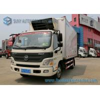 China Foton 6 Wheelers Refrigerated Trailer Aumark 3 Ton Freezer Truck on sale