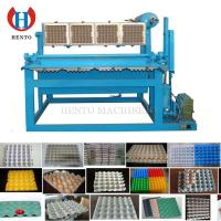 Quality china good quality full automatic waste paper recycling 30 eggs pulp chicken egg tray carton box making machine for sale