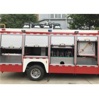 Quality Red Painting Light Fire Truck Generator Model STC-50 510N•M Max Torque for sale