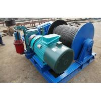 Quality Wire Rope Industrial Electric Winch For Lifting Heavy Duty / Light Duty Available for sale
