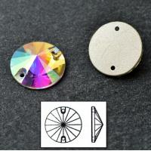 China sewable rhinestone button wedding dress crystal ab stone on sale