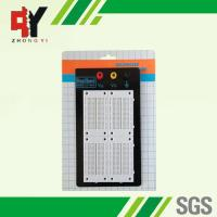 Quality University Lab Black Case Solder Electronic Bread Board 3 Binding Posts for sale