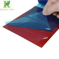 Quality 0.03-0.20mm Blue Protection Color Steel Sandwich Panel Adhesive Film for sale