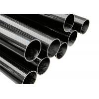 Quality WT Press rolling Forming Carbon Fiber Tube with High Strength for sale