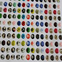China customized domed epoxy resin stickers on sale