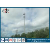 Buy cheap Q235 Polygonal Hot Dip Galvanized Telecommunication Monopole Antenna Towers from wholesalers