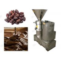 Manual Cocoa Bean Grinding Machine / Cacao Nib Grinder Colloid Mill