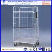 High Capacity Powder Coated Steel Roll Container from Chinese Manufacturer