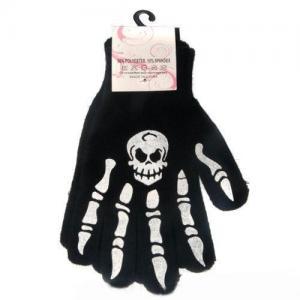 China skeleton glove the halloween glove on sale