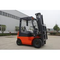 Quality Manual 1T LPG Forklift Trucks 2 Stage 4m Mast With Air Conditioning System for sale