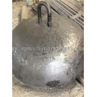 China Foundry Direct Marine Parts Iron Cast 3000kg Dead Weight Moorings With Lift eye