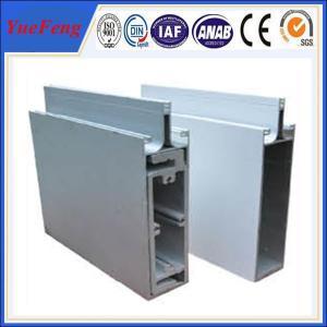 China OEM aluminum curtain wall profile, extruded aluminium profiles for curtain glass on sale
