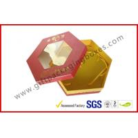 China Octangle Chocolate Packaging Boxes / Window Boxes Hot Stamping Boxes on sale