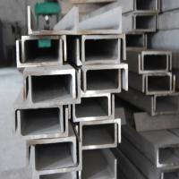 China AISI304L 2mm 3mm Stainless Steel U Channel Bar Size 80*40 90*45 304 Industry on sale