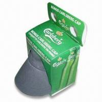 Quality Promotional Hat with Printing Box Packing, Made of 100% Cotton Twill Fabric for sale