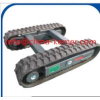 Buy cheap 3 ton Rubber Track Undercarriage on construction machinery/2016 new hydrualic  crawler undercarriage from Wholesalers