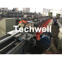 China Aluminum, Galvanized Steel Cold Roll Forming Machine For Octagonal Tube Pipe Equipment With Making Rolling Shutter Axes on sale