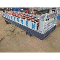 China Color Steel Construction IBR Galvanized Steel Roofing Sheets Roll Forming Machinery on sale