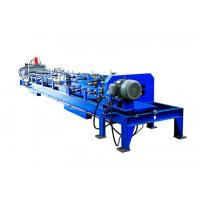 Quality Auto Change Size C Purlin Roll Forming Machine , Steel Frame Forming Machine for sale