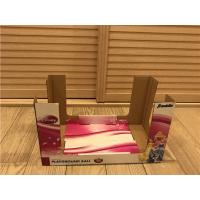 Quality Wide Open Cardboard Display Stands Gloss / Matte Lamination Damp - Proof for sale