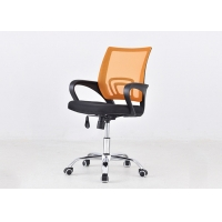 Quality Swivel Staff Visitor Ergonomics Upholstered Office Chair for sale