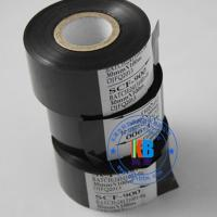 Quality batch number printing 25mm*100m black hot stamping foil on food pharmaceutical package usage for sale