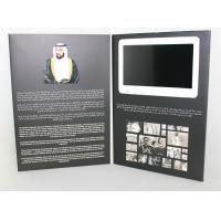 Quality 2.4 4.3 5 7 10 LCD video card , video greeting cards A4 book size for sale