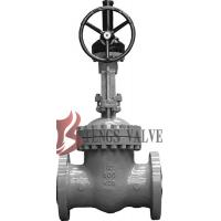 Quality API Cast Steel Fully Open Gate Valve Metal Seat Z40H For Oil / Gas Industry for sale
