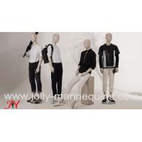 China Jolly mannequins-2019 best selling abstract male store window use mannequins collection Bieber on sale