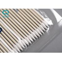 China High Absorbency Sterile Cotton Buds , Medical Cotton Swabs For Micro Mechanical Cleaning on sale