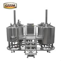 Pub / Brewery / Hotel Micro Brewing Equipment 15 BBL Steam Heated Brewhouse