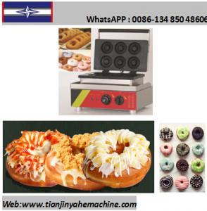 Quality TJ-4 6 Donuts/Batch Mini Donuts/Doughnut Baker Machine for sale