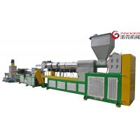 Quality HDPE Plastic Extrusion Machine , ABB Frequency Φ3X3 Plastic Strand Pelletizer for sale