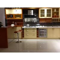 Classic Kitchen Wall Cabinets / Kitchen Sink Unit With Cupboard Gloss Surface