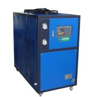 Quality Blue 5HP Industrial Air Cooled Chiller With Motor Overload Protection Function for sale