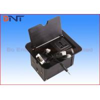 Quality Aluminum Alloy Manual Black Table Cable Cubby Slip Up Universal Standard for sale