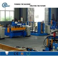 Buy cheap Hydraulic Powered Metal Roofing Roll Forming Machine With 3 Groups Rollers from wholesalers