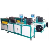 Quality Plate Type Copper Fin Radiator Making Machine 40 M/min Feeding Speed for sale