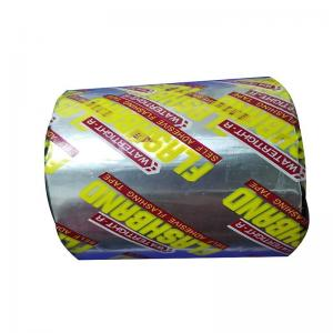 Quality bitumen sealing tape aluminum foil joint tape bitumen self adhesive bitumen window tape flashing band for sale