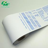 China mufeng blue print thermal paper rolls in bulk manufacturers with cheap price on sale