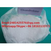 Quality High 99% Purity Muscle Growth Anabolic Steroids Oxandrolone / Anavar Powder CAS 53-39-4 for sale