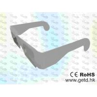 Quality Paper framed Circular polarized 3D glasses CP297GTS02  for sale